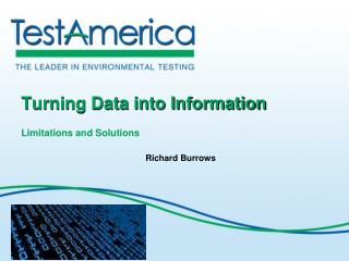 Turning Data into Information