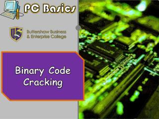 Binary Code Cracking