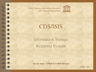 CDS/ISIS