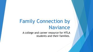 Family Connection by Naviance