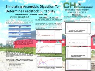 Simulating Anaerobic Digestion To Determine Feedstock Suitability