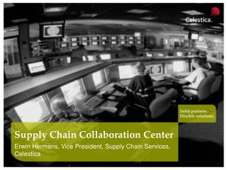 Supply Chain Collaboration Center