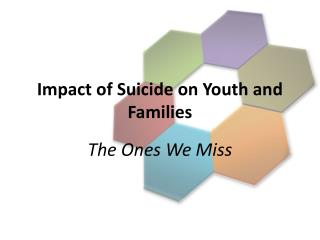 Impact of Suicide on Youth and Families