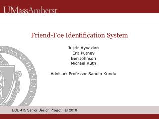 Friend-Foe Identification System