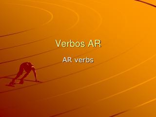 Verbos AR