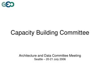 Capacity Building Committee