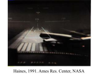 Haines, 1991. Ames Res. Center, NASA