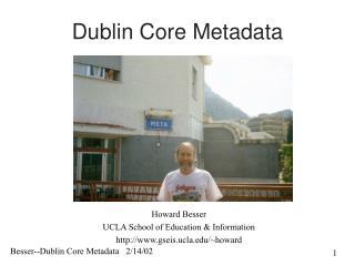 Dublin Core Metadata