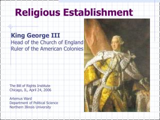 Religious Establishment