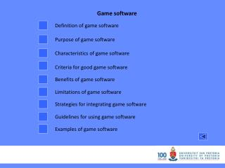 Game software