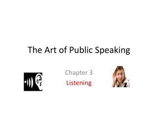 the art of public speaking ch 15 For over 30 years, instructors around the world have successfully used the art of public speaking to teach the development and presentation of effective speeches through personalized and adaptive instruction, the program helps each student think critically, build confidence and make the leap from learning the principles to mastering competent speaking in the classroom and throughout life.