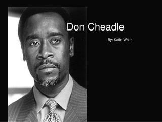 Don Cheadle