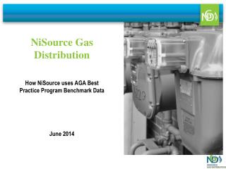 How NiSource uses AGA Best Practice Program Benchmark Data