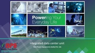 Integrated data center unit
