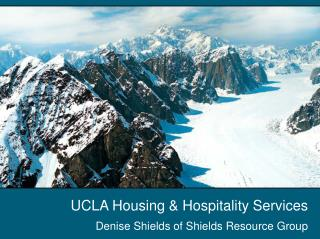 UCLA Housing & Hospitality Services