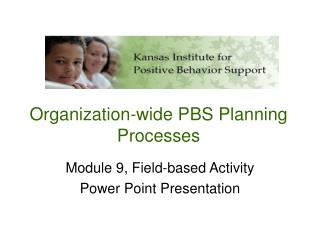 Organization-wide PBS Planning Processes