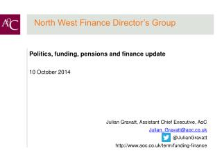 North West Finance Director's Group