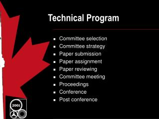 Technical Program