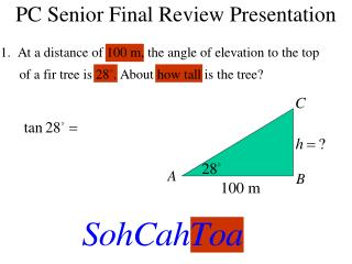 PC Senior Final Review Presentation