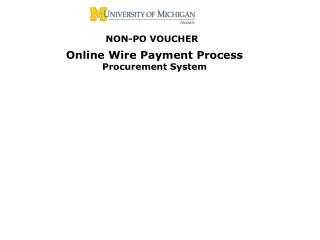 WIRE PAYMENTS 2011