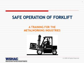 A TRAINING FOR THE  METALWORKING INDUSTRIES