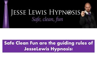 The stage Hypnosis Show Corporate event Program by Jesse Lew