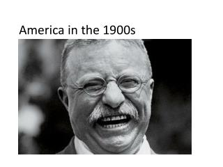 America in the 1900s