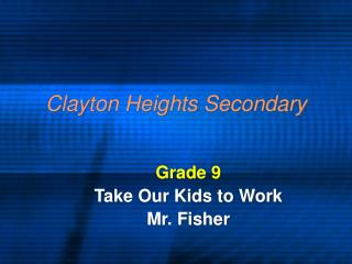 Clayton Heights Secondary