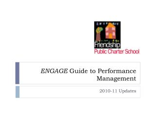 ENGAGE  Guide to Performance Management