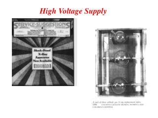 High Voltage Supply