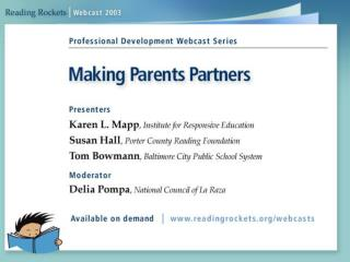 Research on Parent Involvement