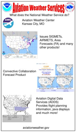 What does the National Weather Service do?