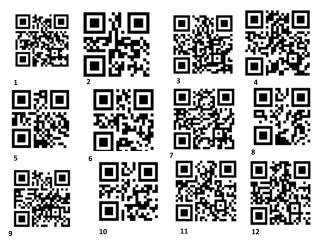 QR Codes for basic questions