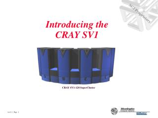 Introducing the CRAY SV1