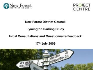 New Forest District Council Lymington Parking Study