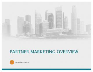 PARTNER MARKETING OVERVIEW