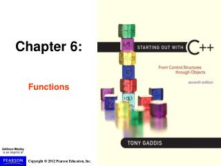 Chapter 6: Functions