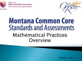 Mathematical Practices  Overview