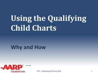 Using the Qualifying Child Charts