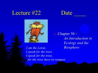 Lecture #22 Date ____