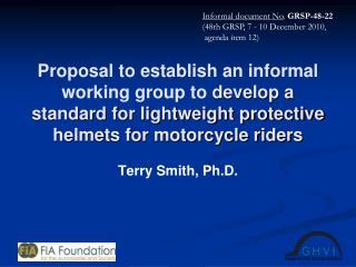 Terry Smith, Ph.D.