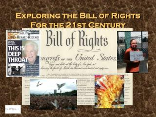 Exploring the Bill of Rights For the 21st Century