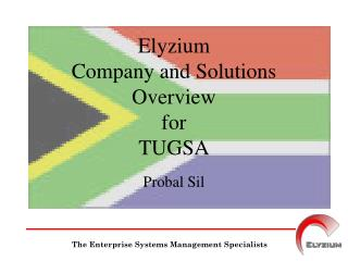 Elyzium  Company and Solutions Overview for TUGSA