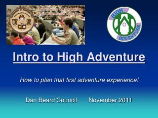 Intro to High Adventure