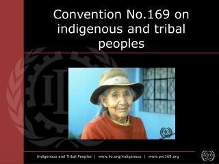Convention No.169 on indigenous and tribal peoples