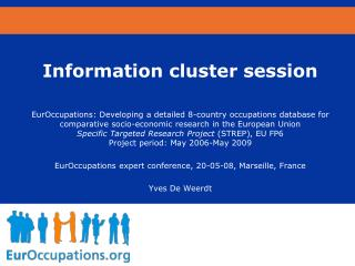 Information cluster session