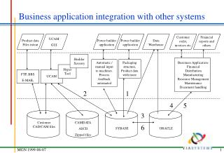 Business application integration with other systems