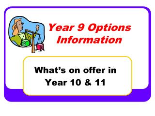 Year 9 Options Information