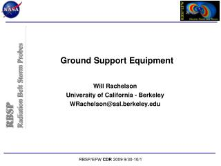 Ground Support Equipment