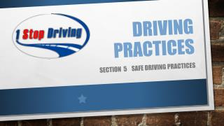 Driving  Practices